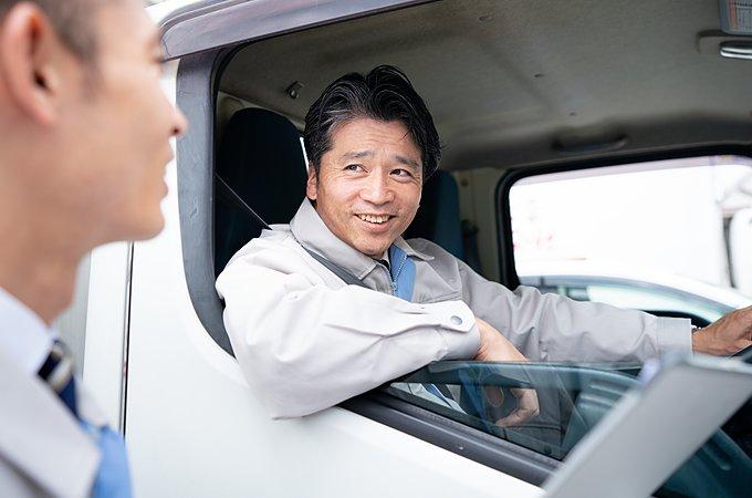 【積載量別】トラック運転手の仕事内容は?のイメージ